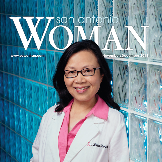 Dr. Chou Featured in San Antonio Woman Magazine